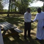 park bench donation codrington college