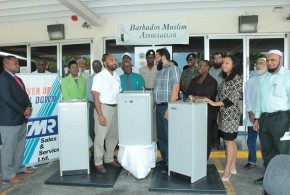 Donation of Water Cooler to 7 schools and Polyclinic