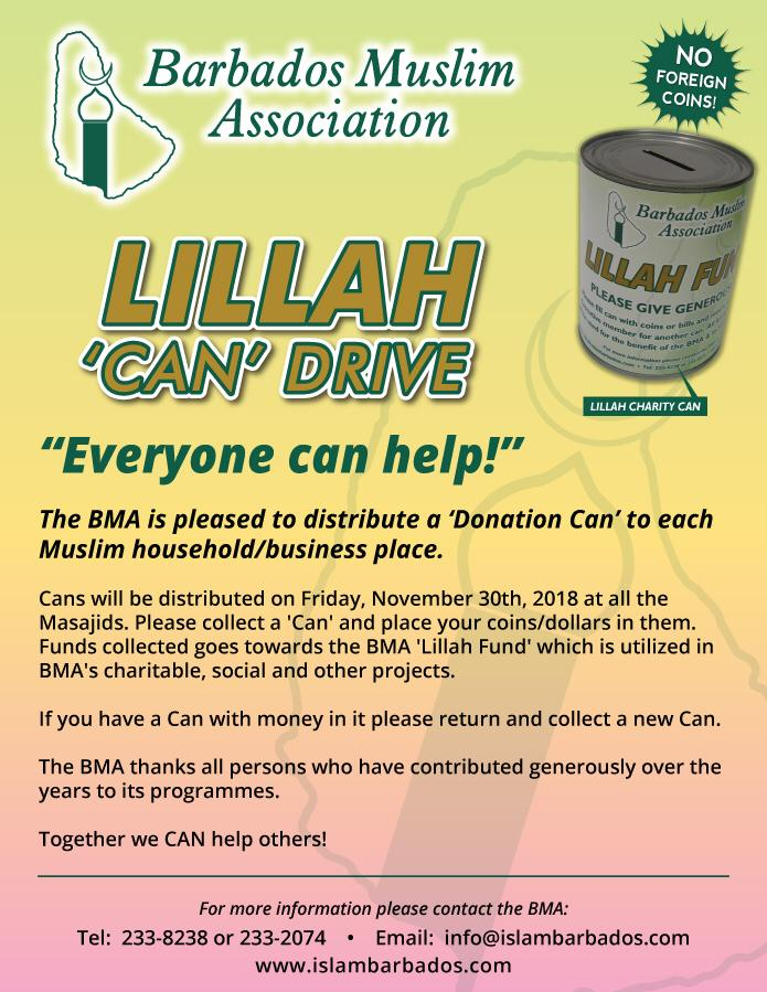 Lillah Cans 2018